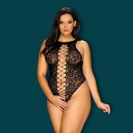OBSESSIVE QUEEN SIZE B129 TEDDY BLACK