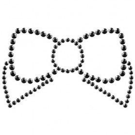 BLACK FISHNET BODYSTOCKING WITH PINK SEAM - Prazer 24 ®