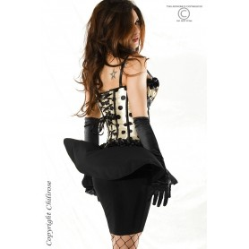 LINGERIE FEMININA - CORSET AND STRING CR-3186